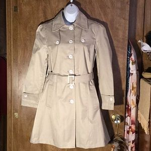 NWT Awesome Trench Raincoat